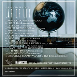 Sir Michael Rocks Lap of Lux Back Cover