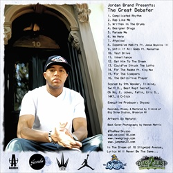 Skyzoo The Great Debater Back Cover