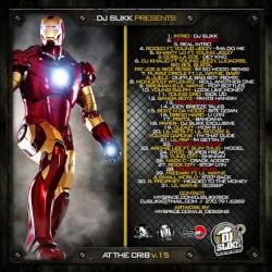 DJ Slikk At The Crib Vol. 15 Back Cover