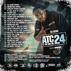 DJ Slikk At The Crib Vol. 24 Back Cover