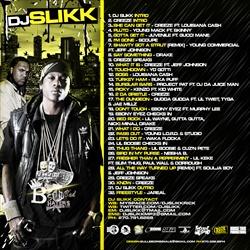 DJ Slikk At The Crib Vol. 28 Back Cover