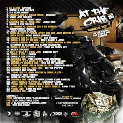 DJ Slikk At The Crib Vol. 16 Back Cover
