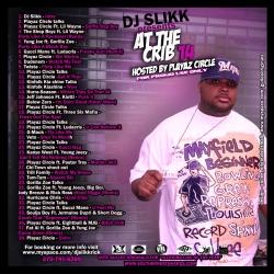 DJ Slikk At The Crib 14 Back Cover