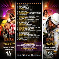 DJ Slikk At The Crib Vol. 19 Back Cover