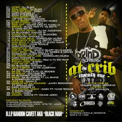 DJ Slikk At The Crib Vol. 21 Back Cover
