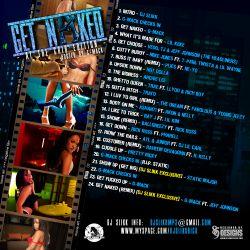 DJ Slikk Get Naked Vol. 1 Back Cover