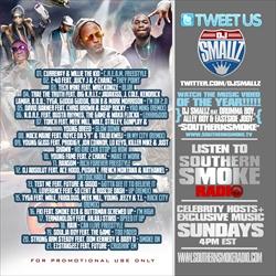 DJ Smallz Southern Smoke Radio (Civil War Volume 1) Back Cover