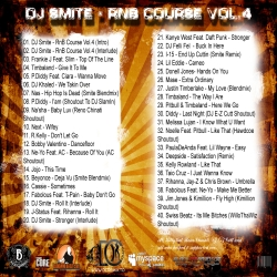 DJ Smite RNB Course Vol. 4 Back Cover