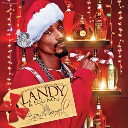 DJ Whoo Kid & Snoop Dogg Landy & Egg Nog 'A DPG Christmas' Front Cover