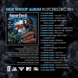 Snoop Dogg, DJ Skee, DJ Scream & DJ Whoo Kid I Wanna Rock Back Cover
