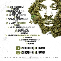 Snoop Dogg That's My Work 2 Back Cover