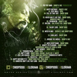 Snoop Dogg That's My Work 3 Back Cover
