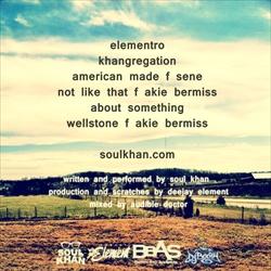 Soul Khan Wellstone EP Back Cover