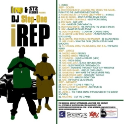 DJ Step One Irep Vol. 1 Back Cover