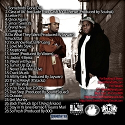 Streetz & Young Deuces We Want In Vol. 2 Back Cover