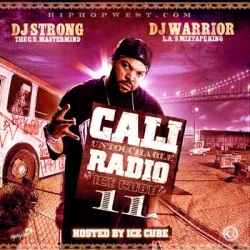 DJ Strong Cali Untouchable Radio 11 Front Cover