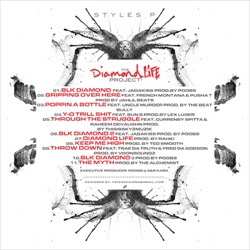 Styles P The Diamond Life Project Back Cover