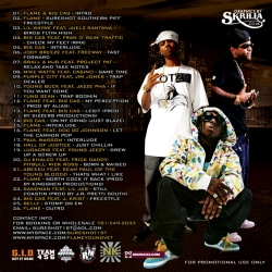 DJ Sureshot Southern Piff Back Cover