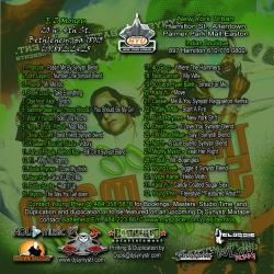 DJ Synystr The 2006 Cinco De Mayo Mixtape Back Cover