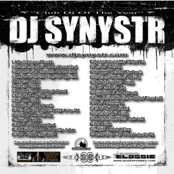 DJ Synystr Loyalty Back Cover