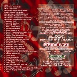 DJ Synystr Musik Blendz Vol. 4 Back Cover