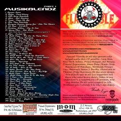 DJ Synystr Musik Blendz Part 1 Back Cover