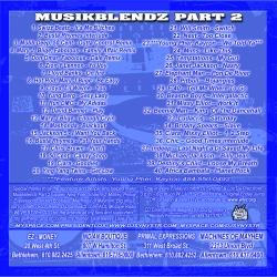 DJ Synystr Musik Blendz 2 Back Cover