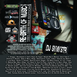 DJ Synystr Re-Birth Of Music '1991-1999 R&B Edition' Front Cover