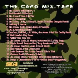 DJ Synystr The Capo Mixtape Back Cover