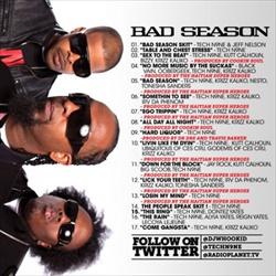 Techn9ne Bad Season Back Cover