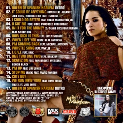 DJ Suave & Lumidee Queen Of Spanish Harlem Back Cover
