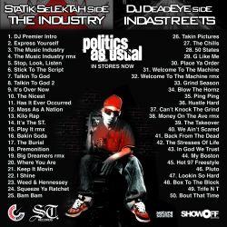DJ Statik Selektah & Termanology 50 Bodies 2 Back Cover