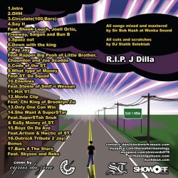 Termanology If Heaven Was A Mile Away (A Tribute To J Dilla) Back Cover