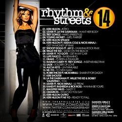 The Aphilliates Rhythm & Streets 14  Back Cover