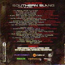 The Empire Southern Slang Pt. 11:Uncontested Back Cover