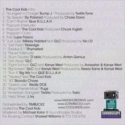 Timbuck2 The Fake Shore Drive Mixtape Back Cover