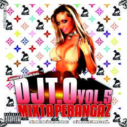 DJT.O Mixtapebangaz Vol. 5 Front Cover