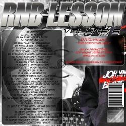 DJT.O RNB Lesson Volume 6 Back Cover