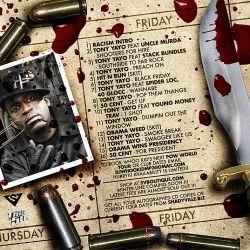 DJ Whoo Kid & Tony Yayo Black Friday Back Cover