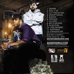 DJ Drama & Tony Yayo Gangsta Paradise Back Cover