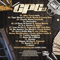 Tony Yayo GPG3 Back Cover