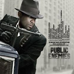 Tony Yayo & DJ Whoo Kid Public Enemies Back Cover