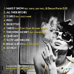 Tony Yayo Sex, Drugs & Hip-Hop Back Cover