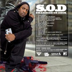 Tony Yayo & DJ Whoo Kid S.O.D. Back Cover