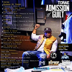 Torae Admission of Guilt Back Cover