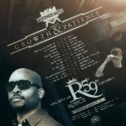 Track Star The DJ Royce Da 5'9 'Growth & Patience' Back Cover