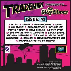 Fly Society Trademark Da Skydiver Isssue 1 Back Cover