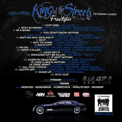 Don Cannon & Trae The Truth King of The Streets Freestyles Back Cover