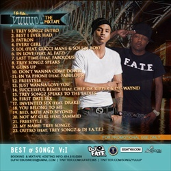 Trey Songz & DJ F.A.T.E. I Be Like Yuuup! Back Cover