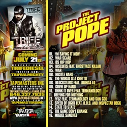 Trife Diesel The Project Pope Back Cover